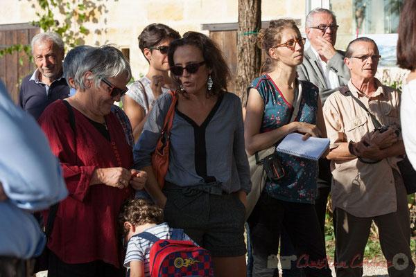 Huguette Fossat, Adjointe à la Maire d'Haux, Mathilde Feld, Présidente de la Communauté de Communes du Créonnais, Aude Boilley, Sud-Ouest