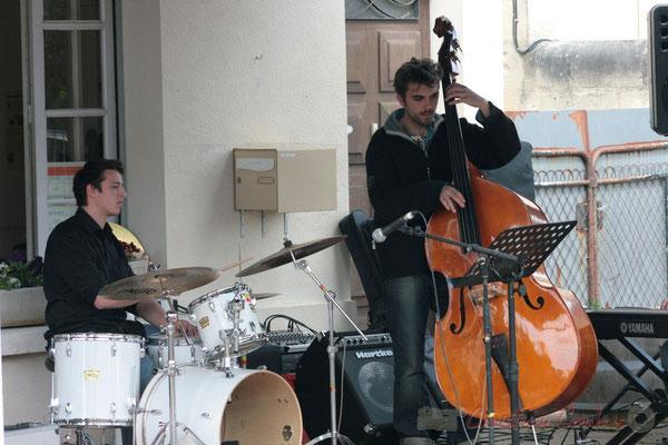 Hugo Raducanu, ?, Ateliers Jazz des Conservatoire d'Agen, Bordeaux, Mont-de-Marsan. Festival JAZZ360 2010, Cénac. 16/05/2010