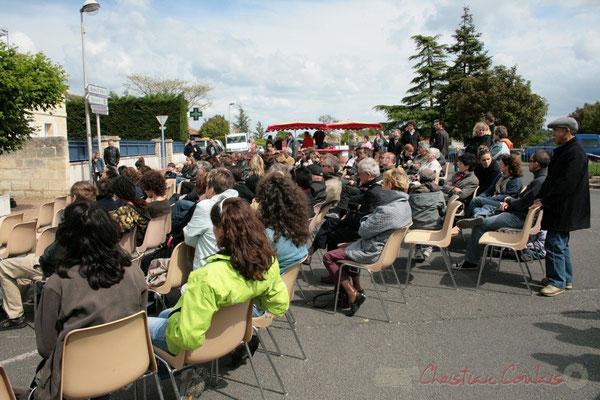 """""""La musique s'écoute sur le bitume"""". Ateliers Jazz des Conservatoire d'Agen, Bordeaux, Mont-de-Marsan. Festival JAZZ360 2010, Cénac. 16/05/2010"""