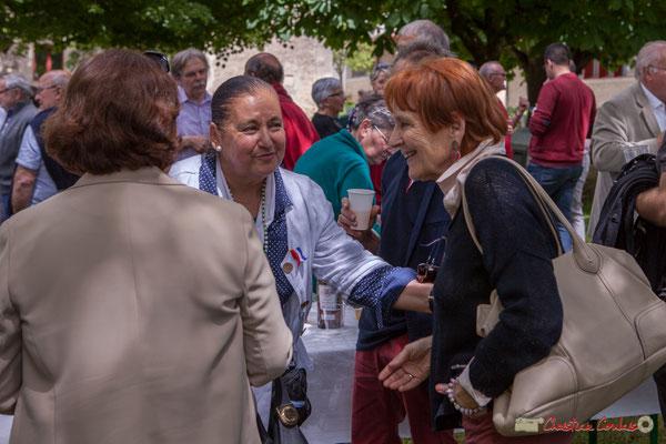 Martine Faure, (?) Tous avec Martine...Faure et Jean-Marie Darmian, dix ans de députation et un jubilé d'engagements politiques. 14 mai 2017, Blasimon