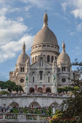 102mm, Square Louise Michel, Basilique du Sacré-Cœur de Montmartre, Paris 18ème arrondissement