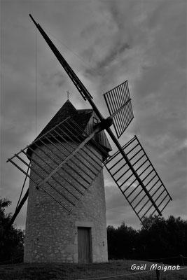 Moulin à vent de Cussol, Saint-Maixant. 28/09/2019. Photographie © Gaël Moignot