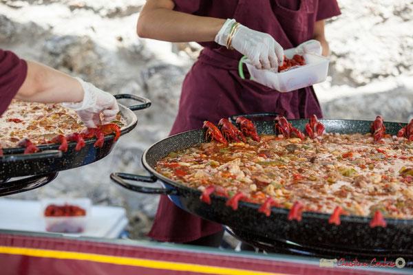 Préparation du déjeuner, Jambalaya aux saveurs de la Louisianne. Festival JAZZ360, 10 juin 2017, Camblanes-et-Meynac