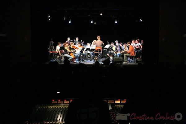 Big Band du Conservatoire Jacques Thibaud, section MMA. Festival JAZZ360, Cénac. 03/06/2011