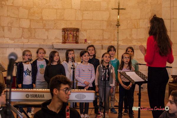 Chorale des TAP de Cénac dirigée par Caroline Turtaut. Festival JAZZ360 2019, vendredi 7 juin 2019.