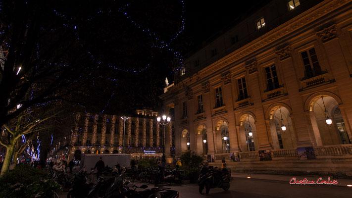"""""""Un Noël radieux"""" Intercontinental Bordeaux le Grand Hôtel et Grand-théâtre de Bordeaux. Mercredi 16 décembre 2020. Photographie © Christian Coulais"""