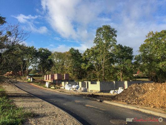 6 Le clos du Petit Maître, avenue du bois du moulin, Cénac, Gironde. 16/10/2017