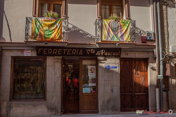 Quincaillerie, Calle Mayor, Sangüesa, Navarra
