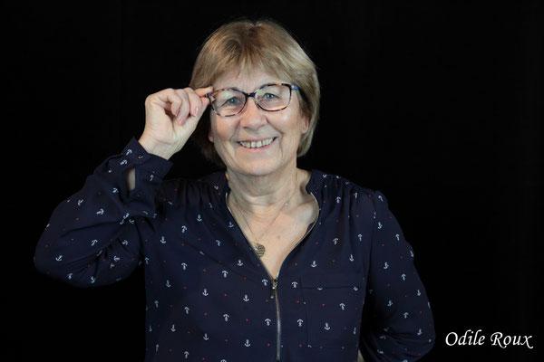 Maryse Pinol photographiée par Odile Roux. Cénac, samedi 2 février 2019