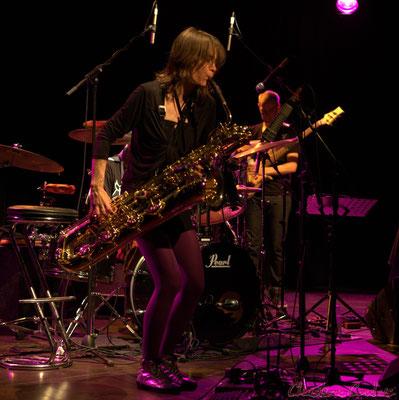 Festival JAZZ360 2012, Céline Bonacina