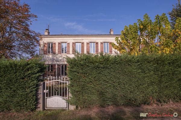 5 Habitat vernaculaire. Avenue de Mons, Cénac, Gironde. 16/10/2017