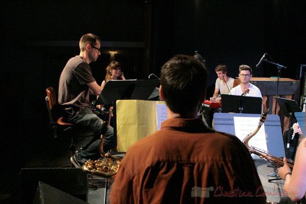 Big Band du Conservatoire Jacques Thibaud, section Musiques Actuelles Amplifiées-Jazz. Festival JAZZ360 2011, Cénac. 03/06/2011