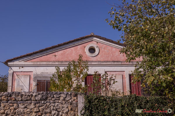 Maison Caudeyran (XVIIème-XVIIIème siècles), avenue du bois de filles, Cénac, Gironde. 16/10/2017