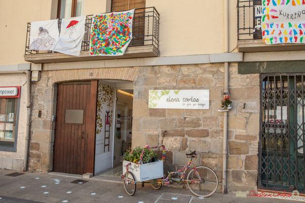 Façade de maison et boutique, 8, Calle Mayor, Sangüesa, Navarra