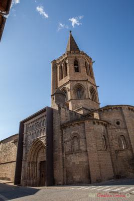 Iglesia Santa Maria la Real, Calle Mayor, Sangüesa, Navarra