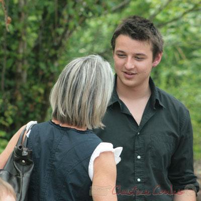 Simone Ferrer, Hugo Raducanu. Randonnée Jazzy organisée par A.L.I.C.E., Citon-Cénac. 04/06/2011