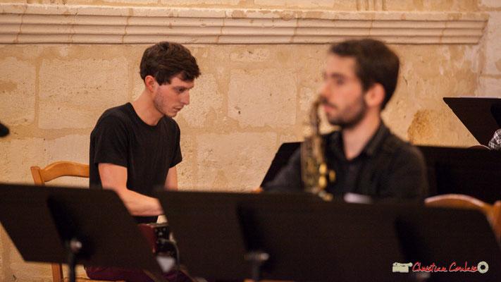 Robin Magord; Big Band Jazz du conservatoire de Bordeaux Jacques Thibaud. Festival JAZZ360 2018, Cénac. 09/06/2018