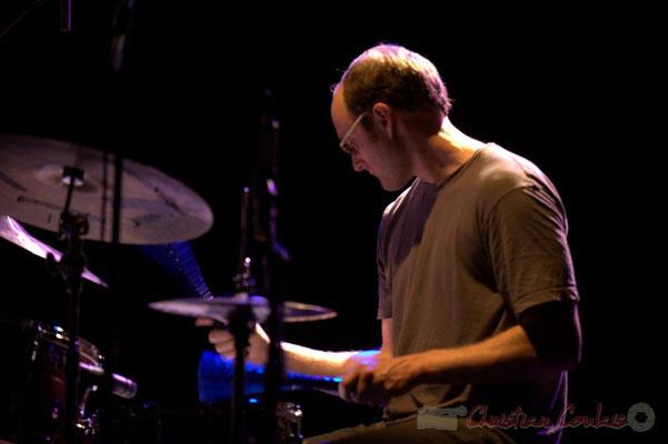 """Stefano Lucchini; Frédéric Borey """"Lines"""" Quartet, Festival JAZZ360 2012, Cénac. 08/06/2012"""