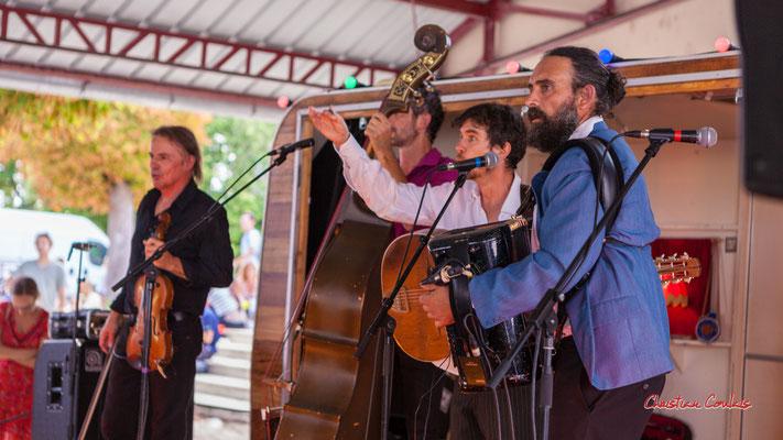 Soslan Cavadore; Romano Dandies. Festival Ouvre la voix, Frontenac, samedi 4 septembre 2021. Photographie © Christian Coulais