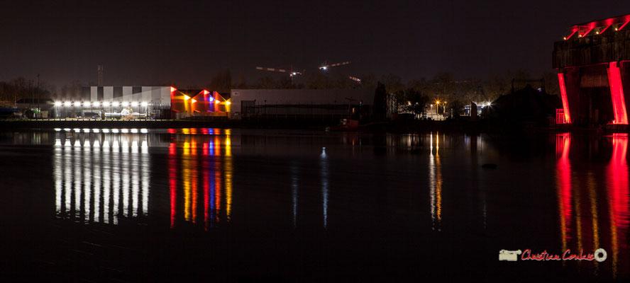 Bassin à flots photographiés par Christian Coulais. Bordeaux, 27 février 2019