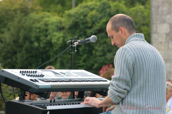Thibaut Marsan; MovieJazzProject, Festival JAZZ360 2010, château Lestange, Quinsac, 16/05/2010