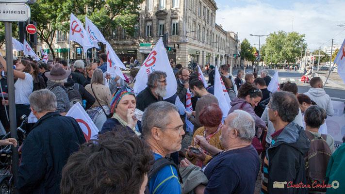 La France Insoumise. Manifestation contre la réforme du code du travail. Bordeaux, 12/09/2017