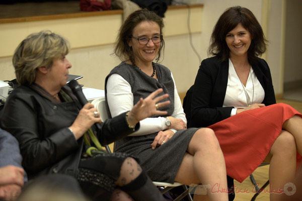 Françoise Cartron, Mathilde Feld, Anne-Laure Fabre-Nadler