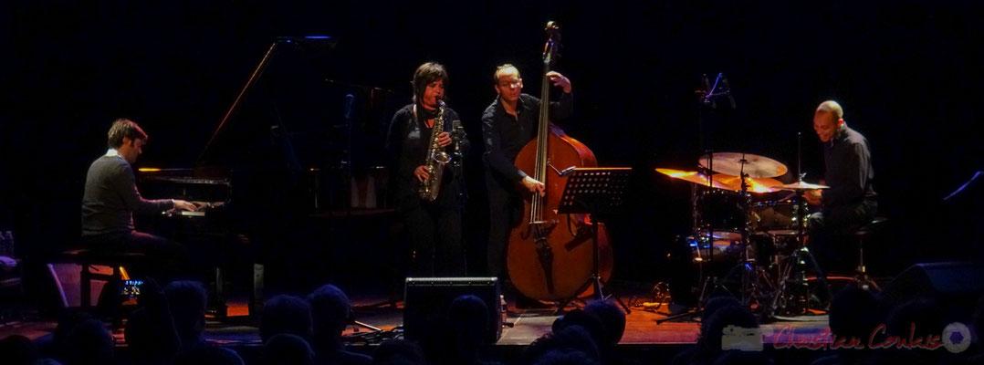 Paul Lay, Géraldine Laurent, Yoni Zelnick, Donald Kontomanou, Géraldine Laurent Quartet. Festival JAZZ360, Cénac