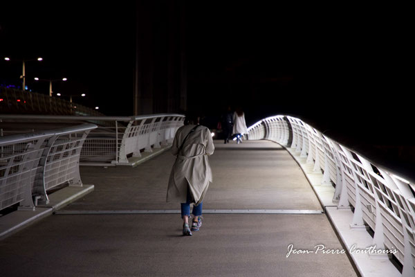 Le pont Jacques Chaban-Delmas photographié par Jean-Pierre Couthouis. Bordeaux, 27 février 2019