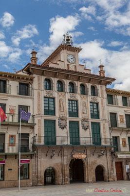 Maison de l'Horloge / Casa du Reloj, Plaza de Los Fueros, Tudela, Navarra