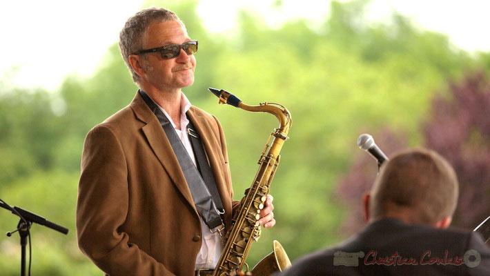 Alex Golino; Alex Golino & David Blenkhorn Quartet, Festival JAZZ360 2012, château Roquebrune, Cénac, samedi 9 juin 2012