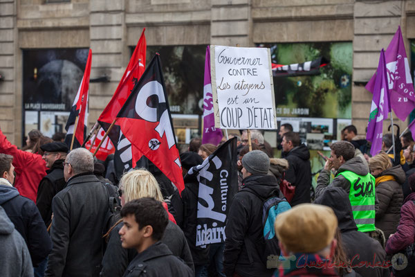 """14h50, """"Gouverner contre les citoyens est un coup d'état"""""""