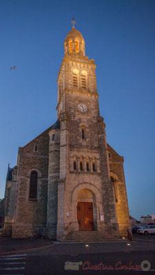 Eglise Sainte-Croix, Saint-Gilles-Croix-de-Vie, Vendée, Pays de la Loire