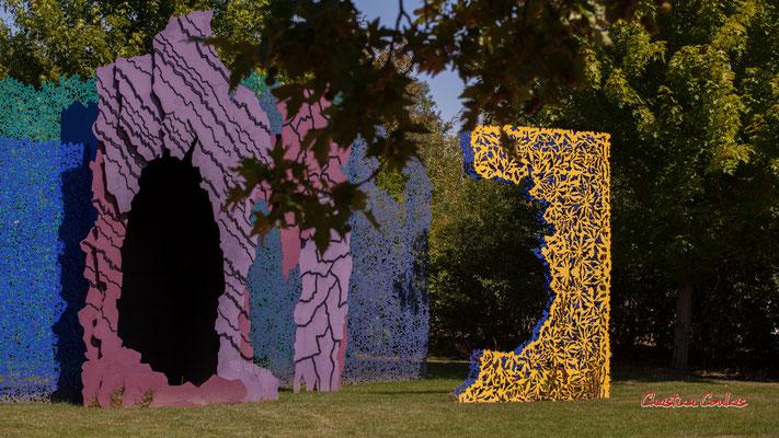 Le jardin des hypothèses, de Bernard LASSUS, architecte paysagiste et plasticien. Prés de Goualoup, Domaine de Chaumont-sur-Loire. Lundi 13 juillet 2020. Photographie © Christian Coulais