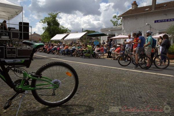 Festival JAZZ360 2015, piste cyclable Roger Lapébie, gare de Latresne