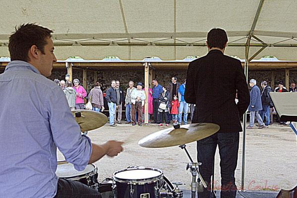 Hugo Raducanu, Florian Marques; Naxee Quintet, Festival JAZZ360 2012, château Lestange, Quinsac. Dimanche 10 juin 2012