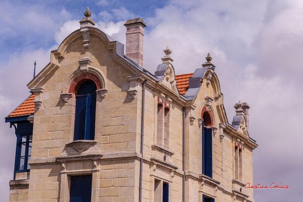 Villa du XIXème siècle, Soulac-sur-Mer. Samedi 3 juillet 2021. Photographie © Christian Coulais