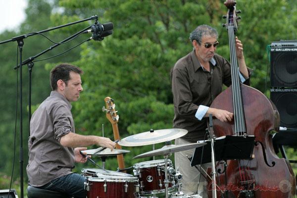 Didier Ottaviani, Iazid Ketfi; Philippe Bayle Trio. Festival JAZZ360, Quinsac. 05/06/2011