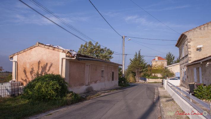 1 Habitat vernaculaire. Avenue de Mons, Cénac, Gironde. 16/10/2017
