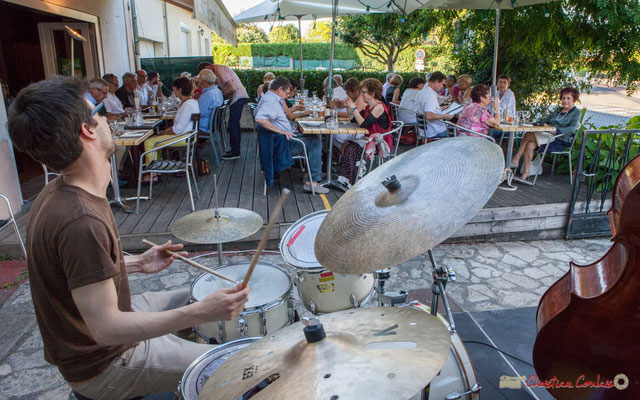 Chorus de Tom Peyron, TSL Trio, Festival JAZZ360, 10 juin 2010, restaurant les Acacias, Cénac