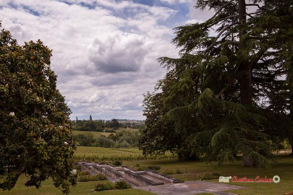 """""""Parc et vignoble du Château Duplessy"""" Pique-nique vigneron avec Nicolas Saez Quartet, Festival JAZZ360 2019, Cénac, lundi 10 juin 2019"""