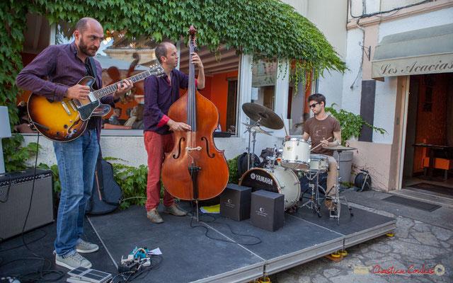 Thomas Saint-Laurent, Thomas Julienne, Tom Peyron, TSL Trio, Festival JAZZ360, 10 juin 2010, restaurant les Acacias, Cénac
