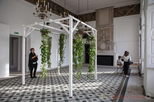 2 Phonofolium. Scenocosme : Grégory Lasserre & Anaïs met den Ancxt. Octobre numérique, Palais de l'Archevêché, Arles