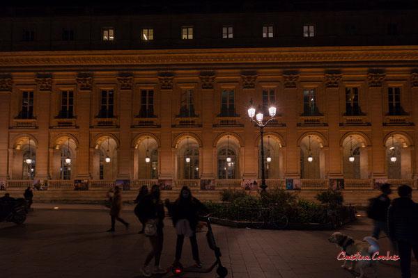 """""""Trotte-fillettes"""" Grand-théâtre de Bordeaux. Mercredi 16 décembre 2020. Photographie © Christian Coulais"""
