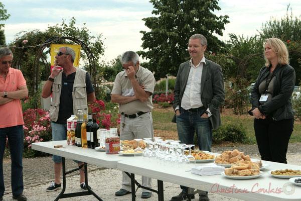 Apéritif inaugural en hommage aux bénévoles, Festival JAZZ360 2011, Cénac. 04/06/2011