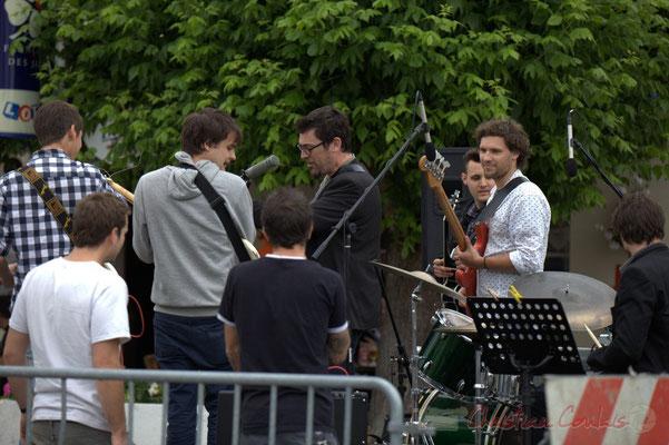 Festival JAZZ360 2012, second atelier Jazz de l'I.R.E.M. (Institut Régional d'Expressions Musicales de Bordeaux). Cénac, 09/06/2012