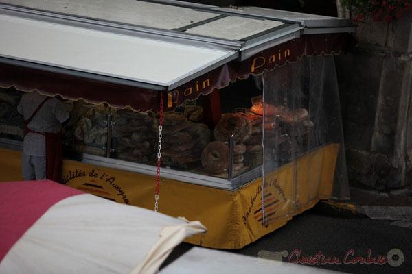 Pains et charcuteries régionaux, Marché de Créon, Gironde