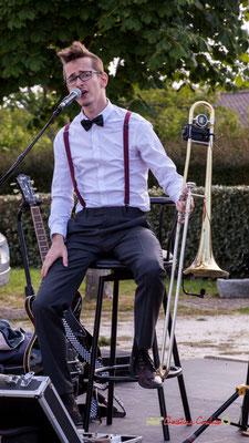 Julien Jolis; Jujubees Swing Combo. Festival JAZZ360, Cénac. 08/06/2019
