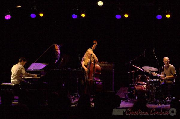 "Paul Lay, Nolwenn Leizour, Stefano Lucchini; Frédéric Borey ""Lines"" Quartet, Festival JAZZ360 2012, Cénac. 08/06/2012"