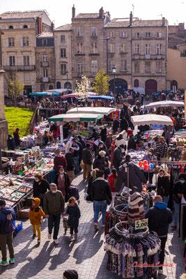 3/5 Marché Saint-Michel, Bordeaux. Samedi 6 mars 2021. Photographie © Christian Coulais
